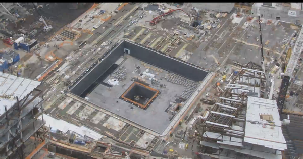 This timelapse video shows the 9/11 memorial rising from the ashes of the Twin Towers