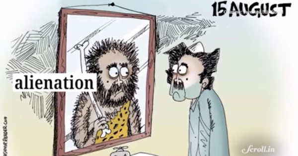 Watch: This young cartoonist makes you laugh through the pain of Kashmir to tell his stories