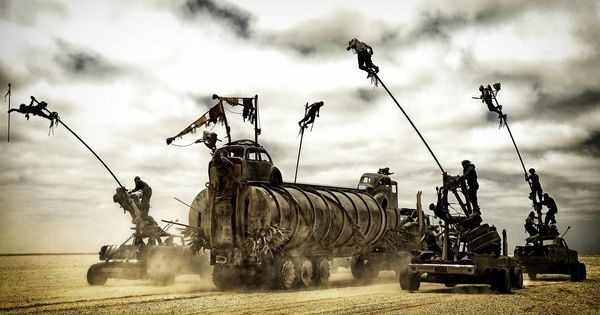 Presenting 'Mad Max: Fury Road', the raw version