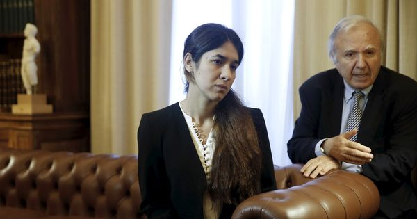 Iraqi woman who survived Islamic State sex slavery named United Nations Goodwill Ambassador