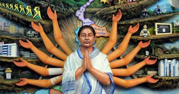Why did the High Court accuse the Mamata government of appeasing minorities during Durga Pujo?