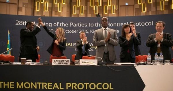 Kigali deal: 197 nations adopt agreement to curb HFC greenhouse gas emissions