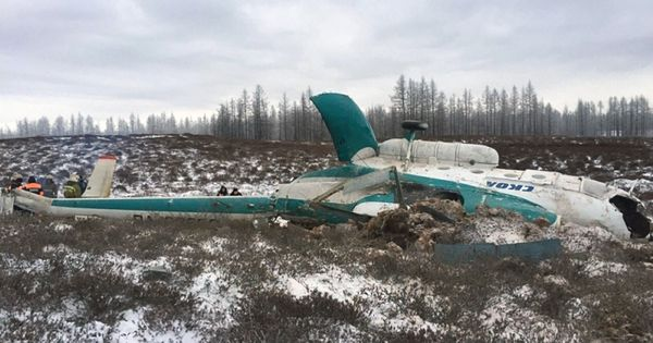 At least 19 dead after Russian helicopter crashes in Siberia