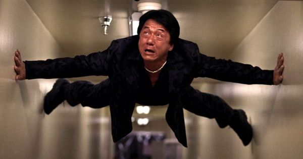 Jackie Chan moves faster than eye can see – old movie saying