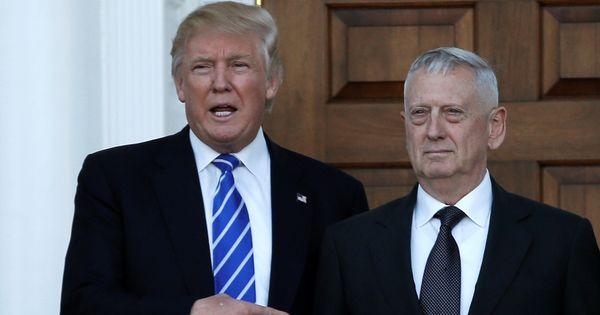 Donald Trump names General James 'Mad Dog' Mattis his defence secretary