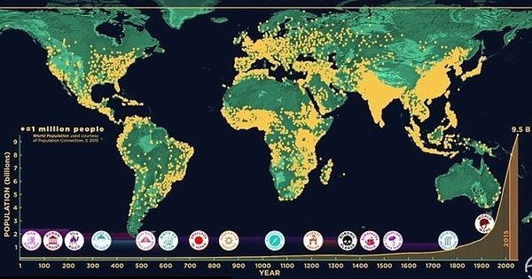 Watch: How humans came to populate the world over a period of 200,000 years