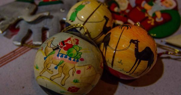 Santa Claus on a camel: Kashmir's Christmas decorations are becoming popular around the world