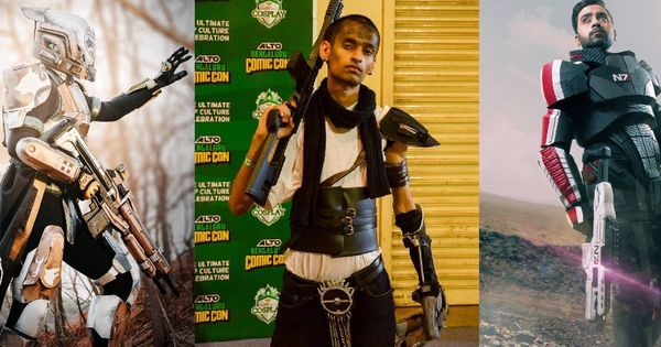 A look inside the nerdy (and creative) world of India's cosplayers