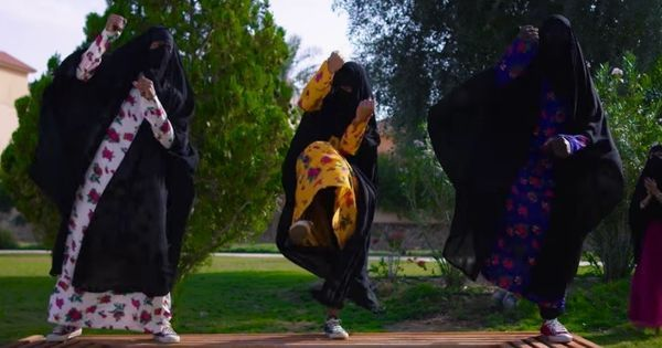 Catchy music video? No, it's actually a protest against the lack of equal rights for Saudi women