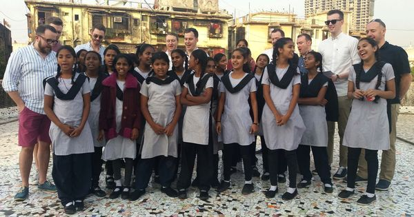 Why a Welsh choir learnt a Hindi song from the students of a Mumbai municipal school