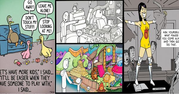 Tagore and the other inspirations behind world's most popular webcomics