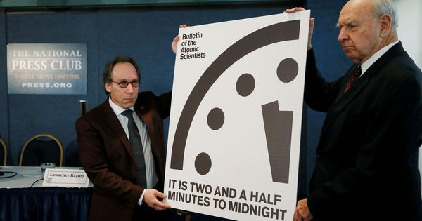 Trump effect: Doomsday Clock now at two-and-a-half minutes to midnight, the worst setting since 1953