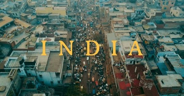 A romanticised and exoticised (north) India looks both familiar and new in this (very) short film