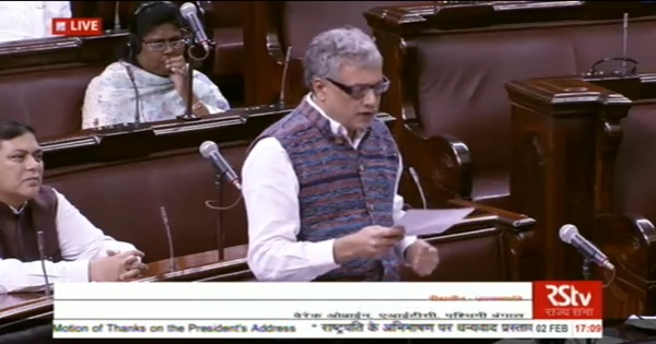 Watch: Social media trolling reaches Parliament as TMC MP Derek O'Brien hits out at abusive attacks