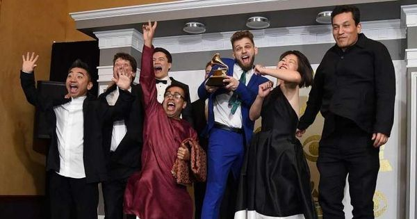 Watch: A Patna musician has won a Grammy for Yo-Yo Ma's world music album