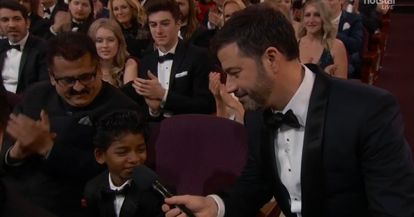 'U Up??' Jimmy Kimmel gave Donald Trump a starring role at the 2017 Oscars