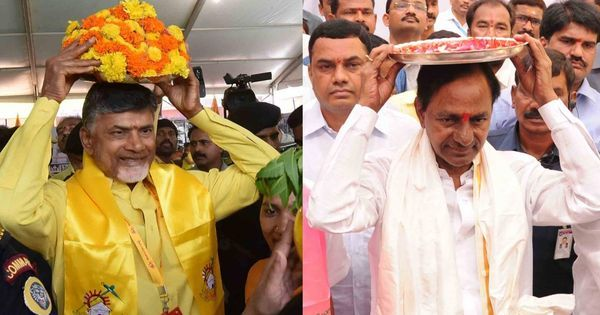 For the love of god: As KCR and Naidu compete over religious displays, is anyone pleased?