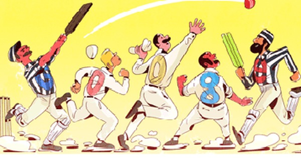 Google Doodle celebrates the 140th anniversary of the first ever Test match