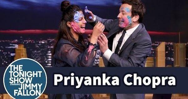 Watch: Priyanka Chopra celebrates Holi with Jimmy Fallon with a paint fight