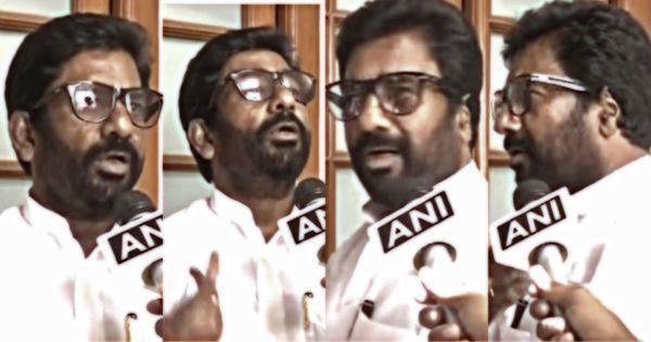 Watch: Unrepentant Shiv Sena MP Ravindra Gaikwad shows politicians' arrogance hasn't receded