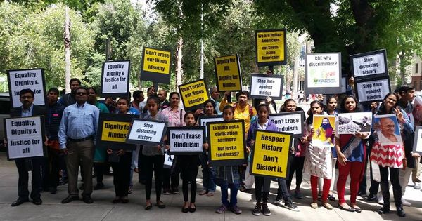 Indian Americans protest in Chicago against Reza Aslan's documentary on a Hindu sect