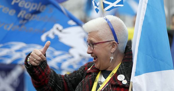 Brexit: Scottish Parliament votes in favour of a second referendum on independence from the UK