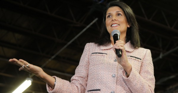 My mother was not allowed to be a judge in India for being a woman, claims Republican Nikki Haley