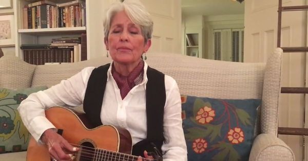 Watch: Legendary singer Joan Baez's new song is about 'a nasty man gone wrong' (you know who he is)