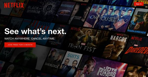 To understand the secret of Netflix's success, you need to visit the local library