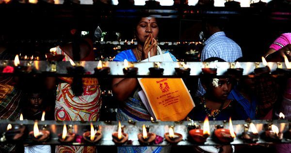 Why does the Tamil New Year change with the ruling party in the state?