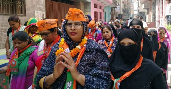 Vikaas in their wards, triple talaq: What BJP's Muslim picks for Delhi civic polls are fighting for
