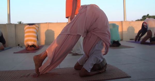 Watch the 98-year-old Tamil Nadu grandmother winning the internet with her yoga skills