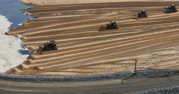 The new oil? The global battle for sand is getting ugly