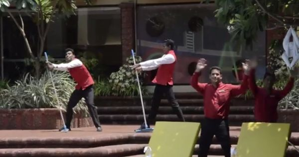 Watch: Goa hotel staff welcome ABBA tribute band with a flash mob and an (obviously) ABBA song