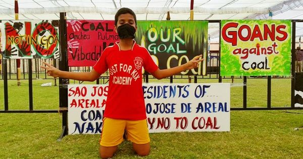 Fishermen, grandmas, priests, politicians and activists reject plans to make Goa a coal hub