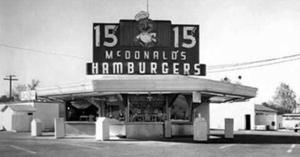 Watch: On May 15, 1940, the first McDonald's restaurant opened in San Bernardino, California