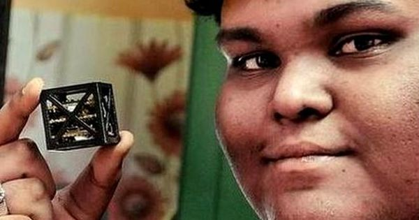 Watch: Meet the Tamil Nadu teen who designed the world's tiniest, lightest satellite for NASA