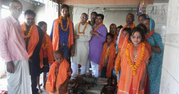 Yogi effect: RSS men convert 43 Muslims in Uttar Pradesh to Hinduism