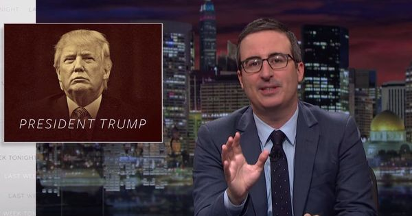 Watch: John Oliver on a week full of profound absurdity, especially Trump's 'stupid Watergate'