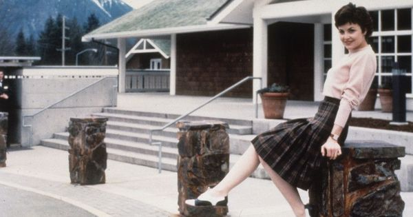 'Twin Peaks' was the original watercooler TV show, and the costumes had a lot to do with it
