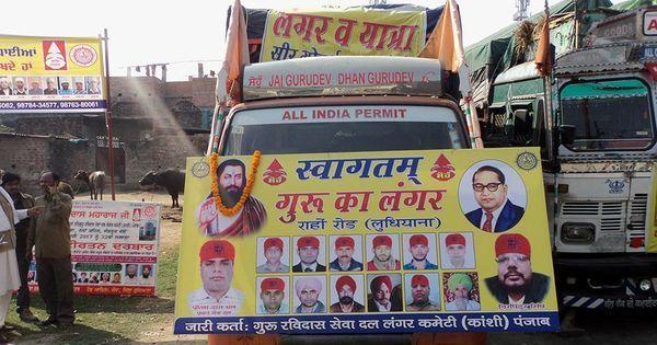 Why some Dalit groups present BR Ambedkar as an incarnation of 15th century Bhakti saint Ravidas