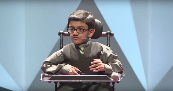 Watch: A 13-year-old wheelchair-bound musical prodigy of Indian origin is a motivational star