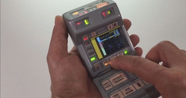 How close are we to a Star Trek-style hand-held medical tricorder for diagnosis of diseases?