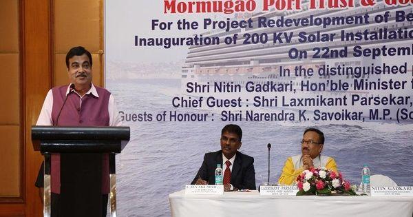 Riled by Gadkari's 'microscopic minority' remark, Goans reassert opposition to development projects