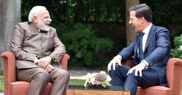 The Netherlands: Narendra Modi and PM Mark Rutte call for united stance against terrorism