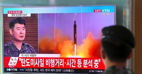 North Korea launches its 11th missile of 2017, analysts believe this one could reach Alaska