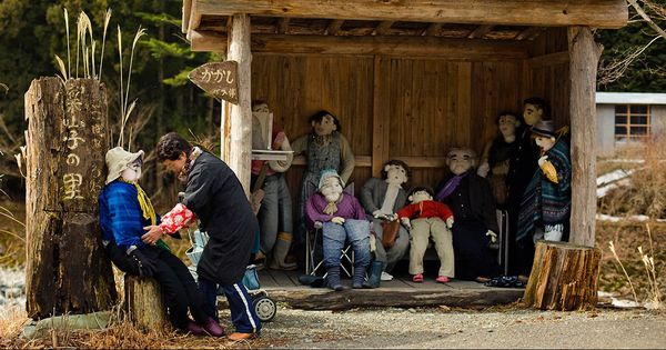 Watch: Residents have been replaced by scarecrows in this ageing Japanese village