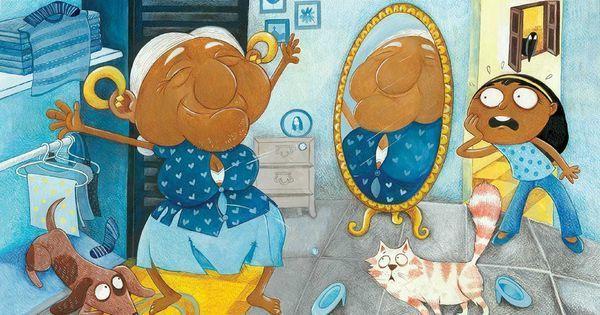 Priya Kuriyan's new book tells the story of an adorable, eccentric grandmother – without any words