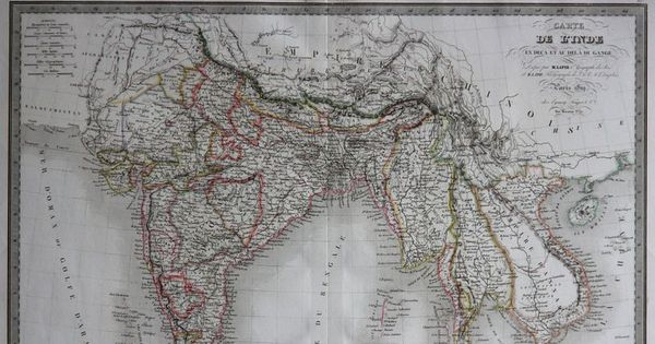Border wars: How European colonisers used maps to build empires in India