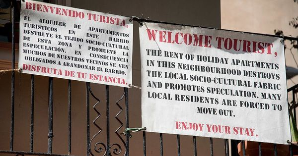 Who is behind anti-tourism attacks in Spain and what do they want?